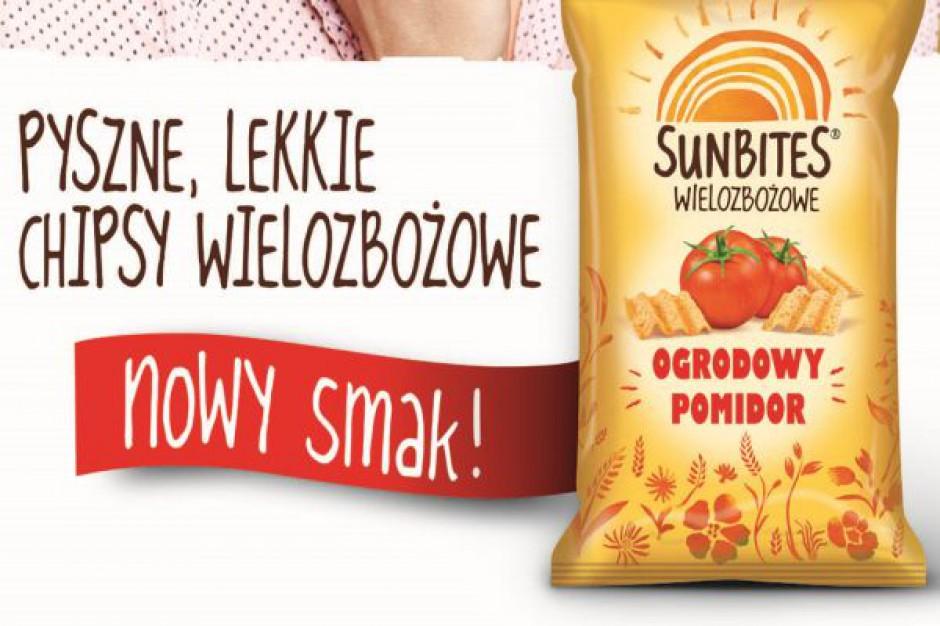 Nowy smak  wielozbożowych chipsów Sunbites