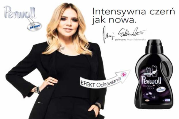 Maja Sablewska reklamuje Perwoll Black