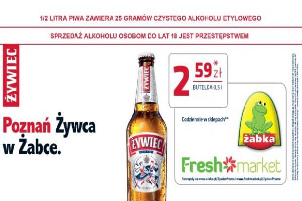 Freshmarket, Żabka i Żywiec ze wspólną kampanią outdoorową