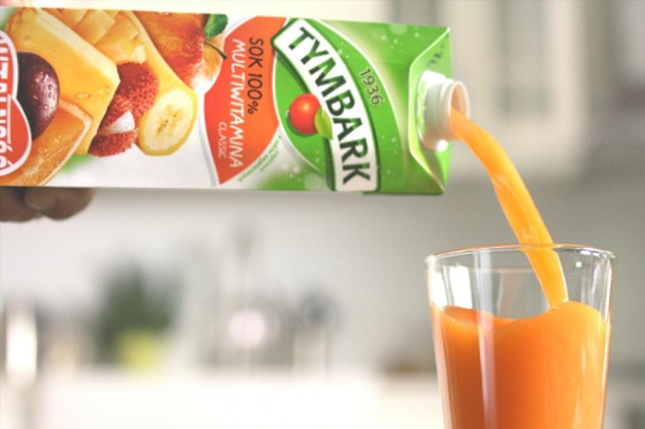 Zimowa kampania reklamowa soków owocowych Tymbark Multiwitamina