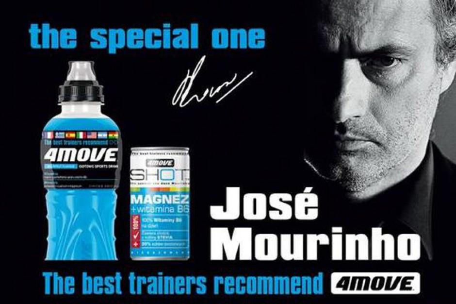 Jose Mourinho będzie reklamował napój 4Move