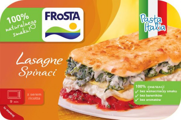Viva la lasagne! Włoskie smaki od FRoSTY
