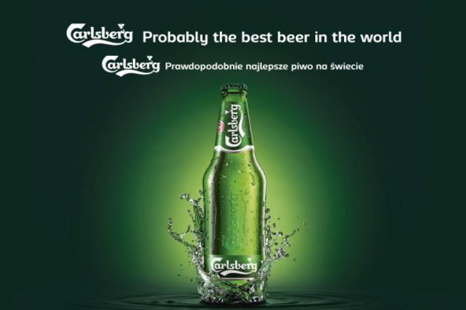 """Carlsberg wraca do hasła """"Prawdopodobnie najlepsze piwo na świecie"""""""