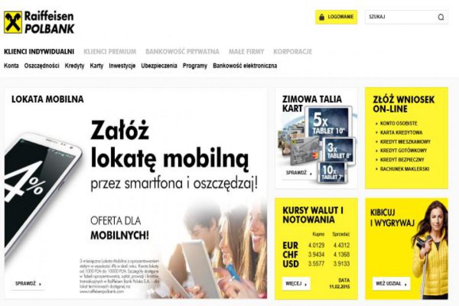 Raiffeisen Bank wychodzi z Polski