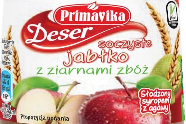 Deser Soczyste Jabłko z ziarnami zbóż Primavika