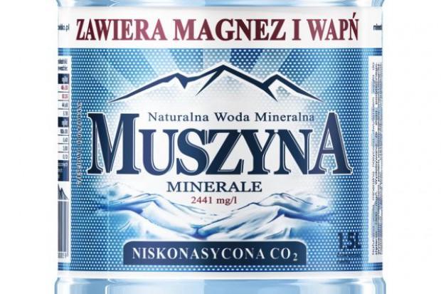 Muszyna Minerale z nową etykietą