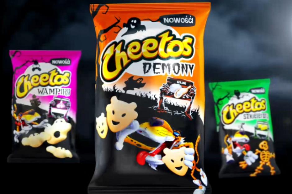 PepsiCo promuje nową serię chrupek kukurydzianych Cheetos