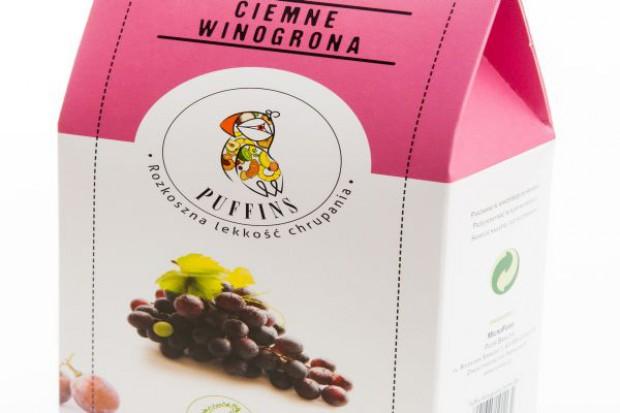 Puffingowane Ciemne Winogrona Puffins