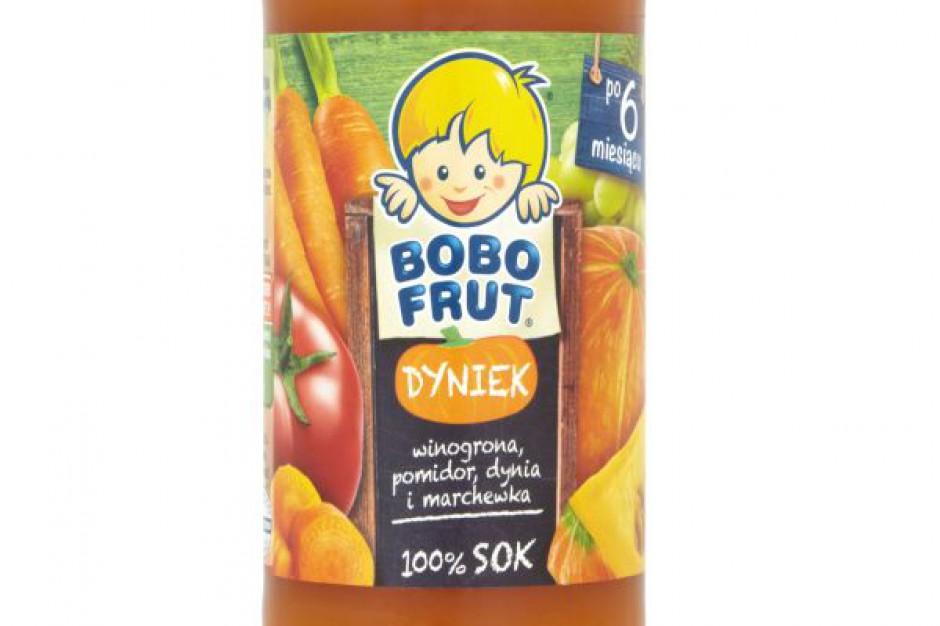 Bobo Frut Pomidorek i Bobo Frut Dyniek