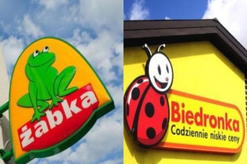 Rok 2014 najbardziej pracowity dla Żabki i Biedronki