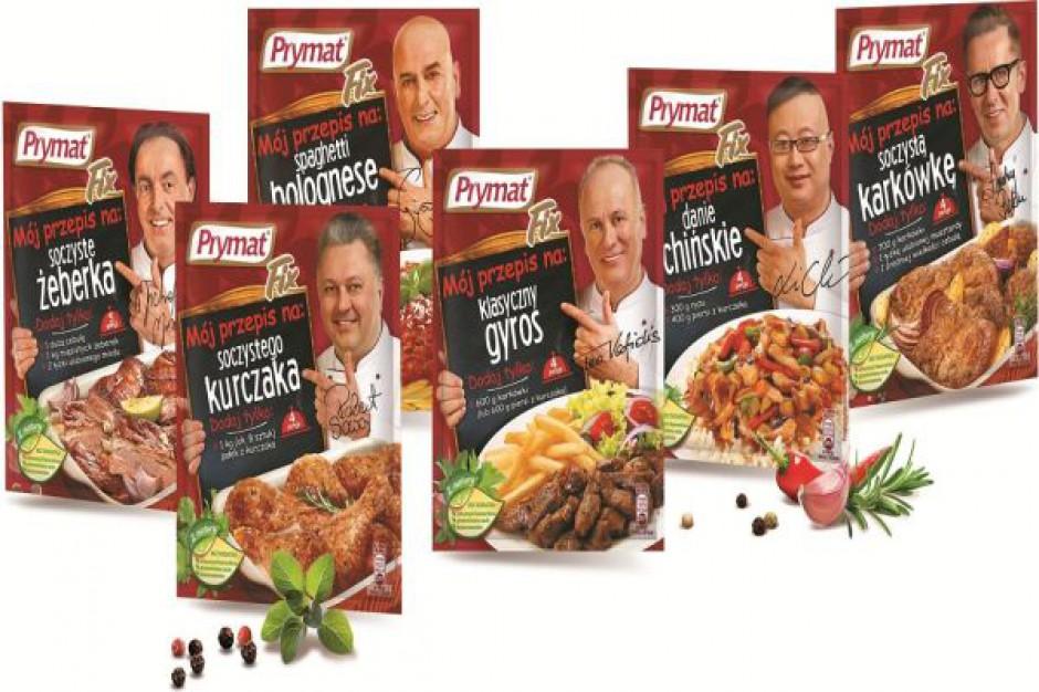 Znani kucharze reklamują przyprawy Prymat