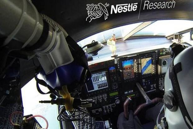 Nestlé partnerem podróży dookoła świata samolotem zasilanym energią słoneczną