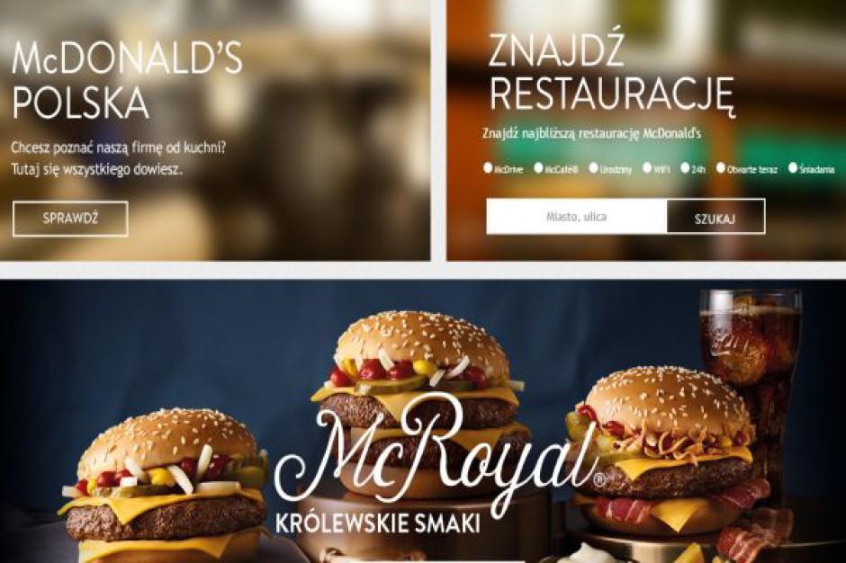 McDonald's w 2015 roku utrzyma tempo otwarć