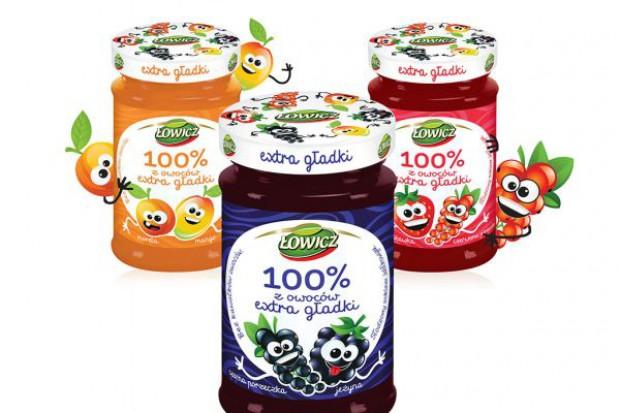 Rusza kampania Łowicz 100% z owoców extra gładki