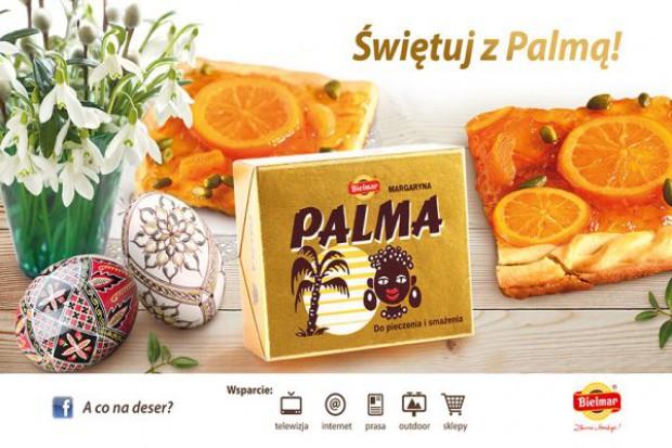 Wiosenna kampania reklamowa margaryny Palma