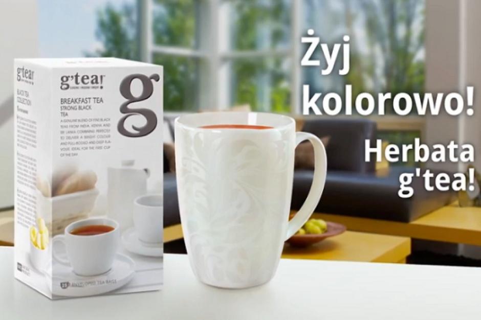 Kampania wspiera wejście na rynek herbaty g'tea