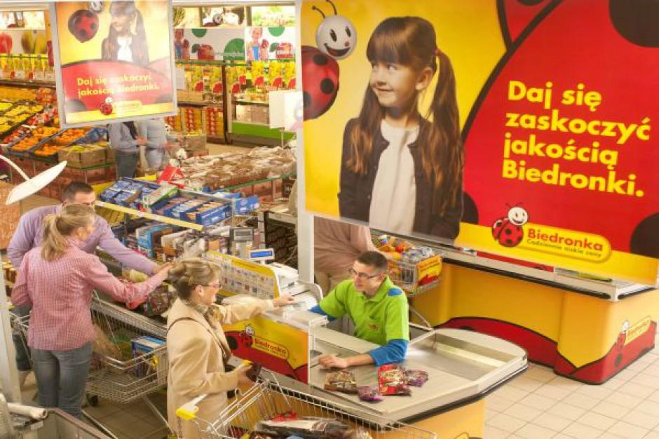 Biedronka ze sprzedażą w wysokości 8,4 mld euro, LfL na minusie