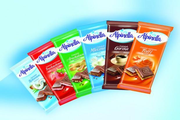 Linia czekolad Alpinella od Terravity zyskała nowy wizerunek