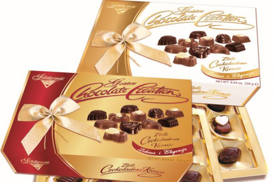 Komunijna oferta słodyczy marki Solidarność