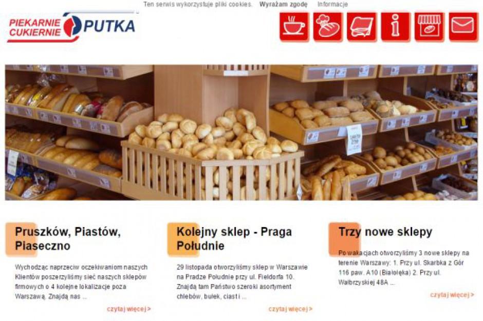 Nowy koncept piekarni Putka - lokale pojawią się przy prestiżowych ulicach