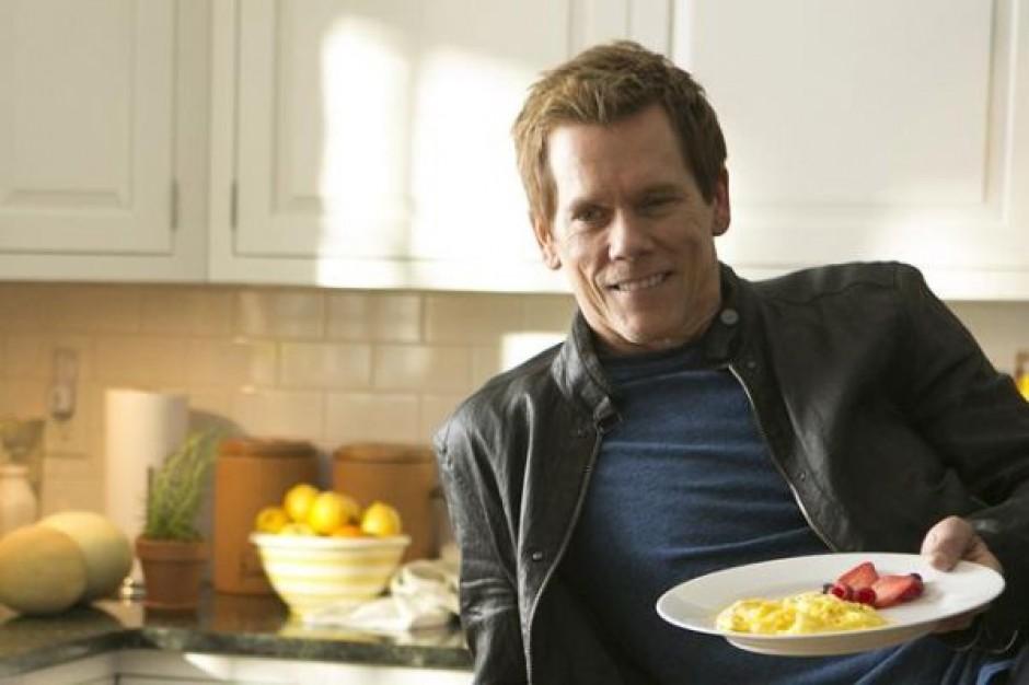 Kevin Bacon reklamuje jajka