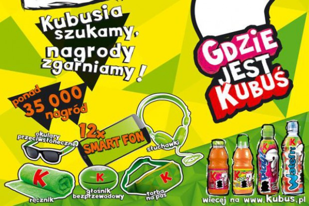 Marka Kubuś z nową kampanią marketingową
