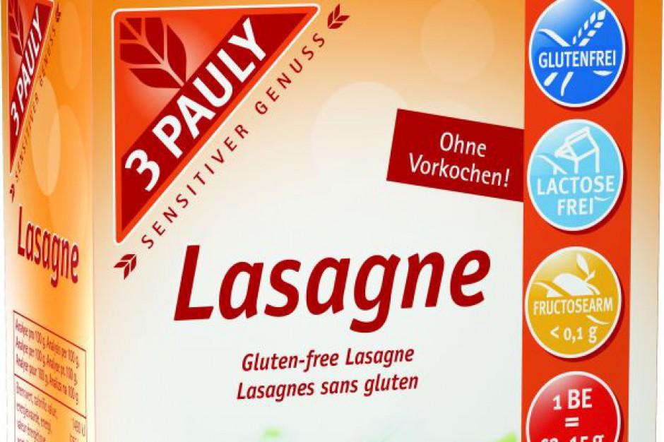 Bezglutenowy makaron płaty lasagne 3 Pauly