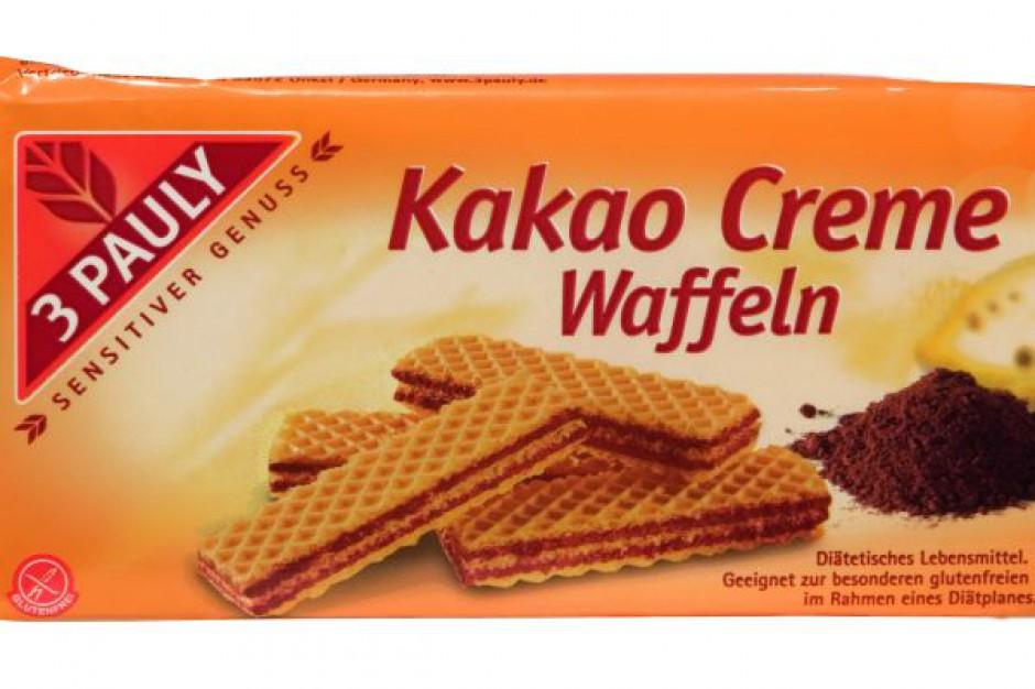 Bezglutenowe Wafelki z kremem kakaowym 3 Pauly