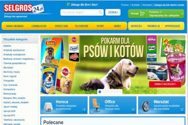 Selgros wprowadza artykuły spożywcze do sklepu on-line