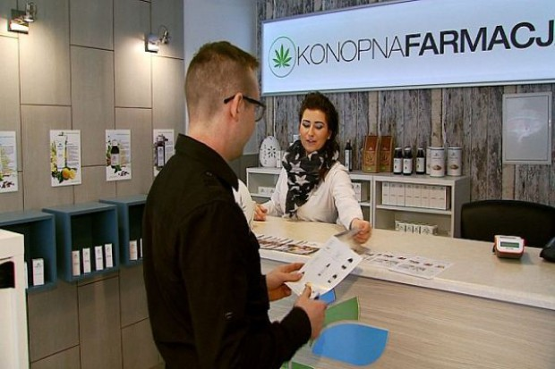 W Katowicach ruszył sklep z produktami na bazie konopi