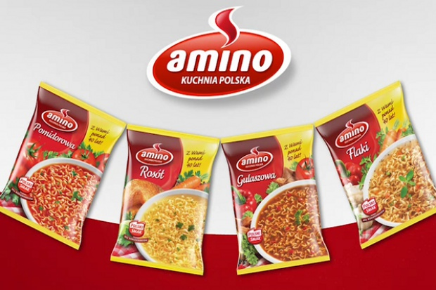 Telewizyjna kampania zup Amino