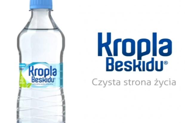 Kropla Beskidu z nowym logo i etykietą