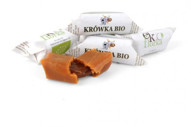 Certyfikowane krówki bio marki Ekoflorka