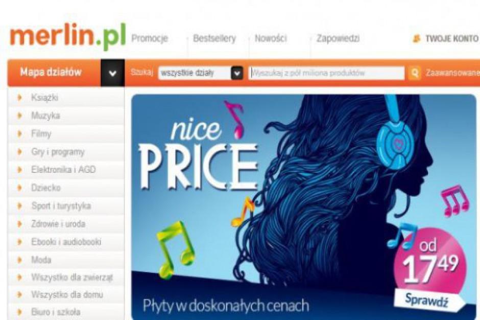 Część wydawców wstrzymuje dostawy do Merlin.pl