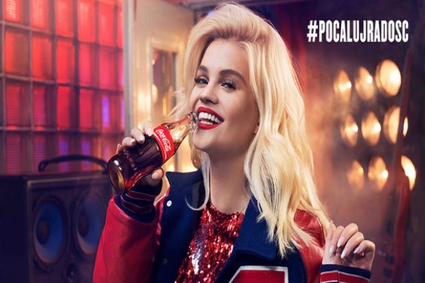 Robert Lewandowski i Margaret w reklamie Coca-Coli