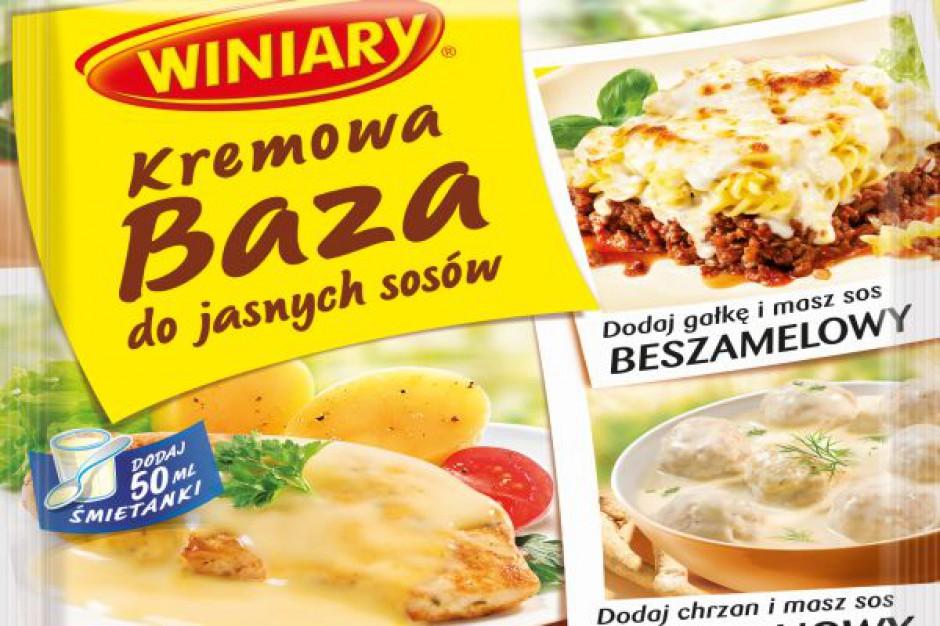 Kremowa baza do jasnych sosów WINIARY