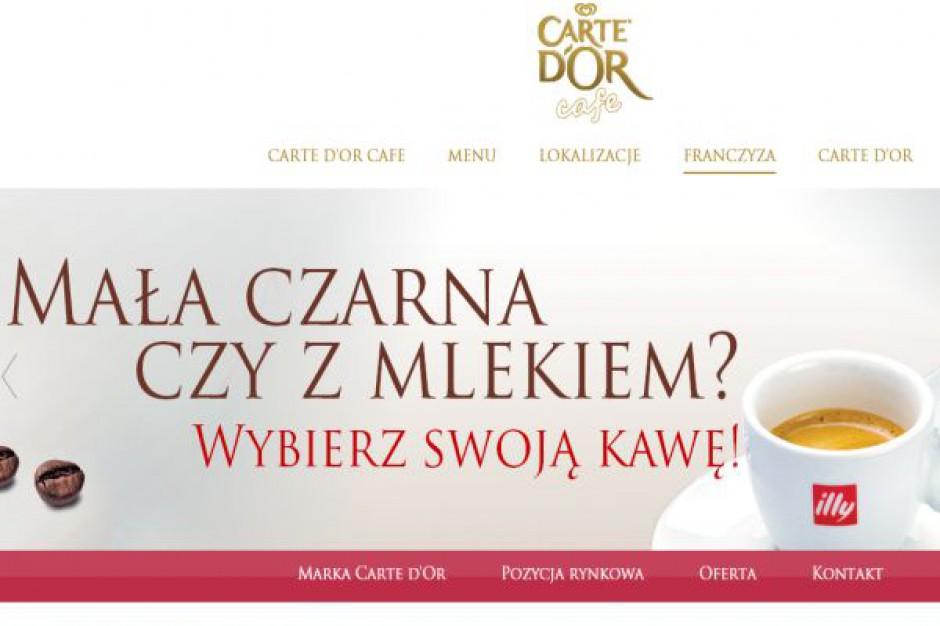 Sieć Carte D'Or Cafe coraz większa
