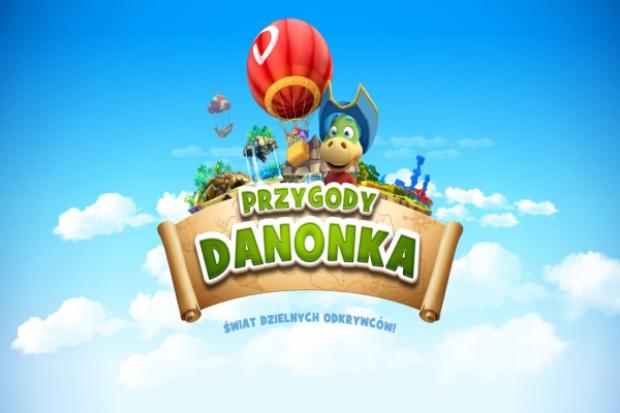 Przygody Danonka - aplikacja z grami dla dzieci