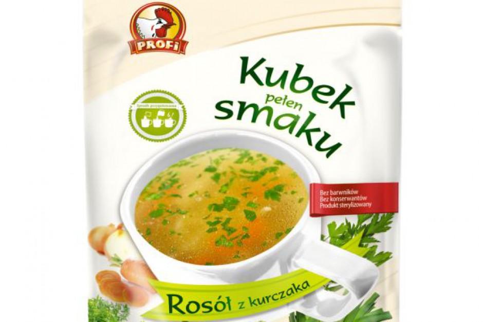 Nowe zupy błyskawiczne Profi
