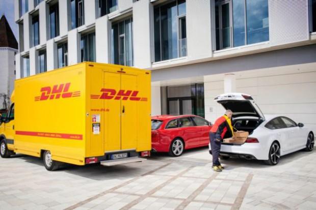DHL Parcel, Amazon oraz Audi łącza siły - samochód będzie mobilnym punktem dostaw paczek