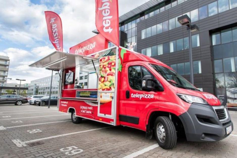 Telepizza stawia na food trucki. Sprawdzi potencjał miast, w których nie jest obecna