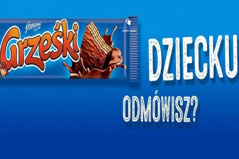 Kampania reklamowa marki Grześki