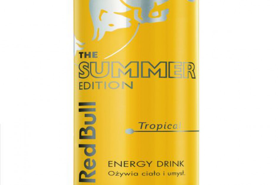 Limitowana seria napoju Red Bull Summer Edition