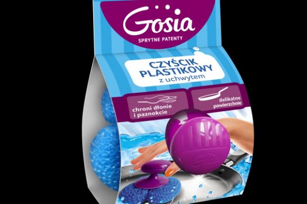Czyścik plastikowy z uchwytem marki Gosia
