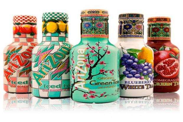 Herbaty mrożone marki AriZona