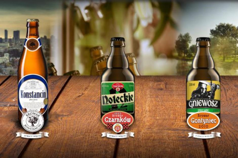 Sprzedaż piwa w Browarze Gostyniec rośnie, bo firma postawiła na kanał tradycyjny