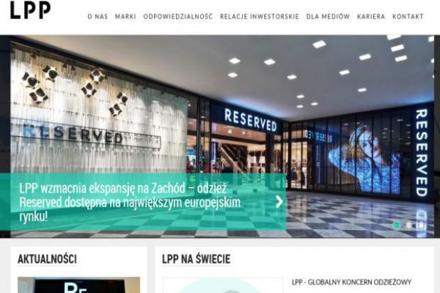 Sprzedaż LfL koncernu LPP spada przez spadek liczby klientów w centrach handlowych