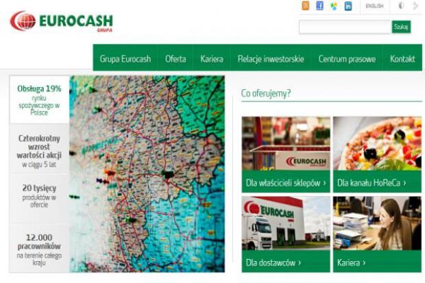 Sprzedaż Eurocashu w I kw. wzrosła o 24 proc. dzięki akwizycjom, 3 mln zł netto straty
