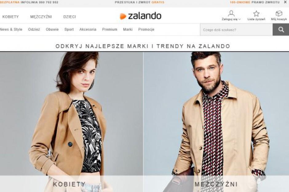 Zalando: Wartość sprzedaży na 1 klienta to 193 euro