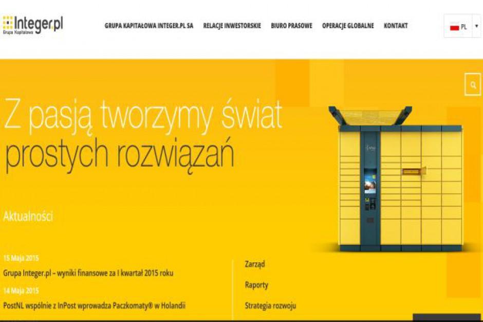 Integer w I kwartale 2015 r. wypracował 8,1 mln zł zysku netto